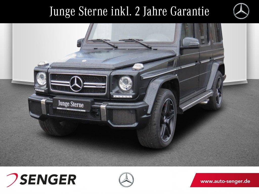 Mercedes-Benz G 63 AMG Designo Distronic Comand Schiebedach, Jahr 2017, petrol