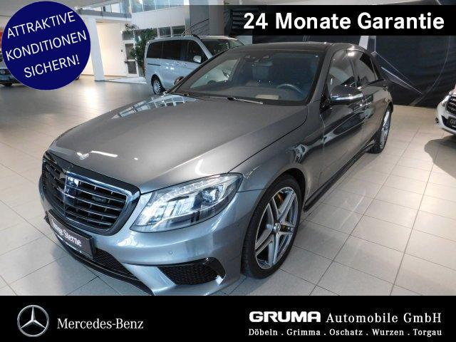 Mercedes-Benz S63 4M lang STANDHZG+PANOD+CARBON+TV+BURM+HEAD-U, Jahr 2016, Benzin