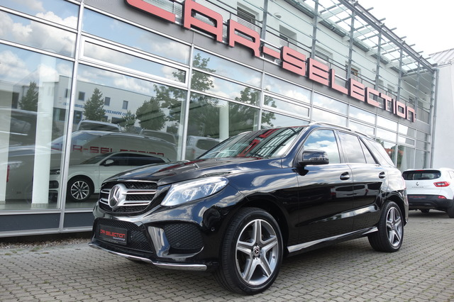 Mercedes-Benz GLE 350 d 4M AMG LINE ACC/LUFT/360°/PANO/AHK/20, Jahr 2017, Diesel