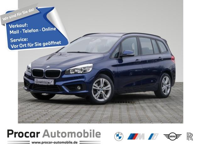 BMW 218 Gran Tourer Jubiläumspaket+Navi+3.Sitzreihe, Jahr 2016, Benzin