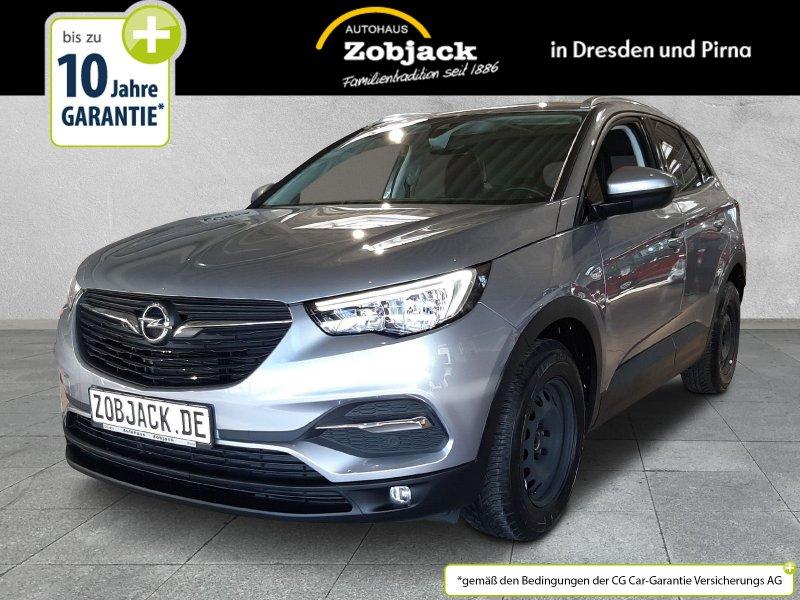 Opel Grandland X Edition 1.2 S/S Multimedia,SHZ,PDC, Jahr 2017, Benzin