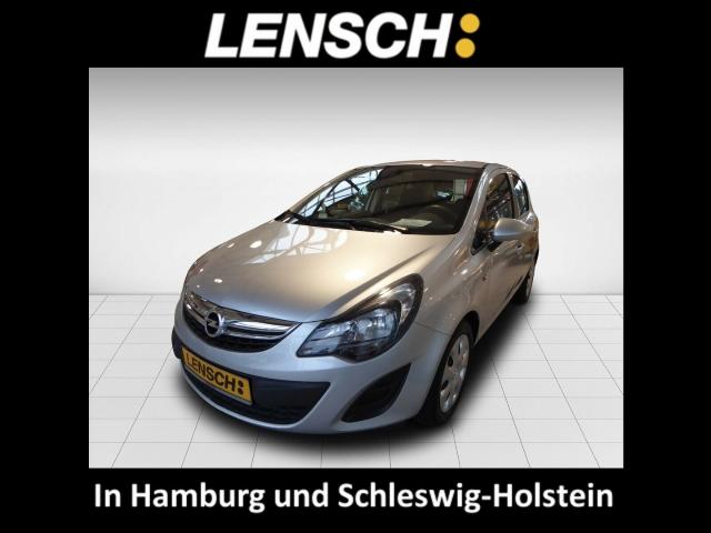 Opel Corsa D 1.3 CDTI Edition NR Klima CD ESP DPF Seitenairb. Scheckheft met. Radio TRC Airb, Jahr 2014, Diesel