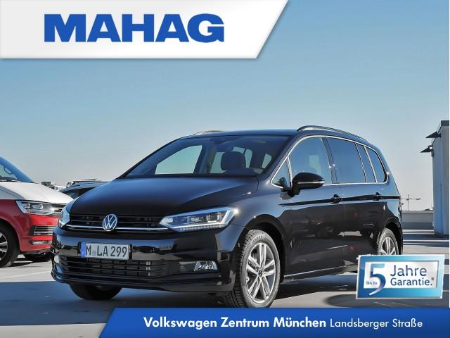 """Volkswagen Touran Highline 2.0 TDI DSG - Rückfahrkamera """"Rear View"""" für """"TrailerAssist"""" - Design-Paket """"Black Style"""" - Navigationssystem """"Discover Pro"""" - Standheizung - Panoramadach - LED-Scheinwerfer - Digital Cockpit Pro - Soundsystem """"DYNAUDIO"""", Jahr 2020, diesel"""