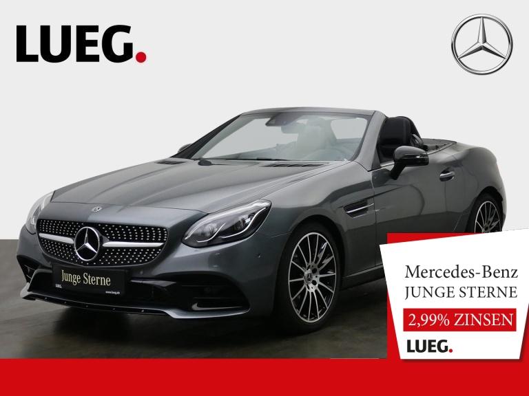 Mercedes-Benz SLC 300 AMG+COM+LED-ILS+AIRSCARF+Mem+SpurP+RFK++, Jahr 2019, Benzin
