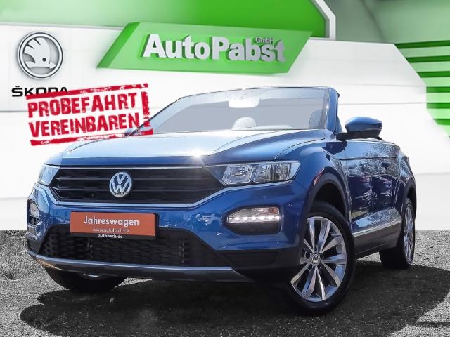 Volkswagen T-Roc Cabriolet 1.0 TSI OPF Style, Navi, ACC, App-Connect, Ganzjahresreifen, Klima, Jahr 2020, Benzin