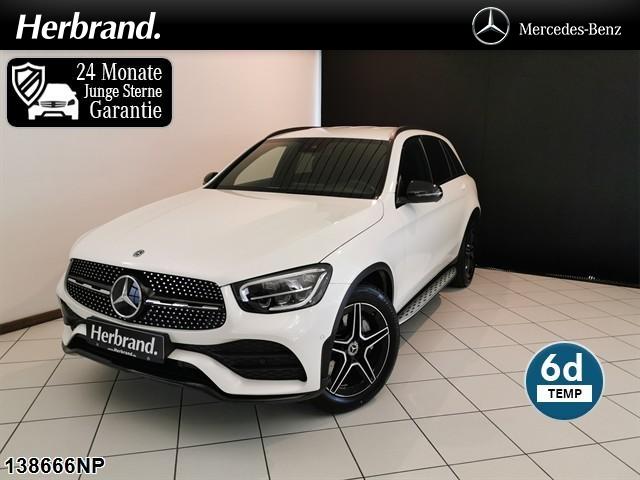 Mercedes-Benz GLC 300 4matic AMG Line MBUX Spur-Paket Ambiente, Jahr 2020, Benzin