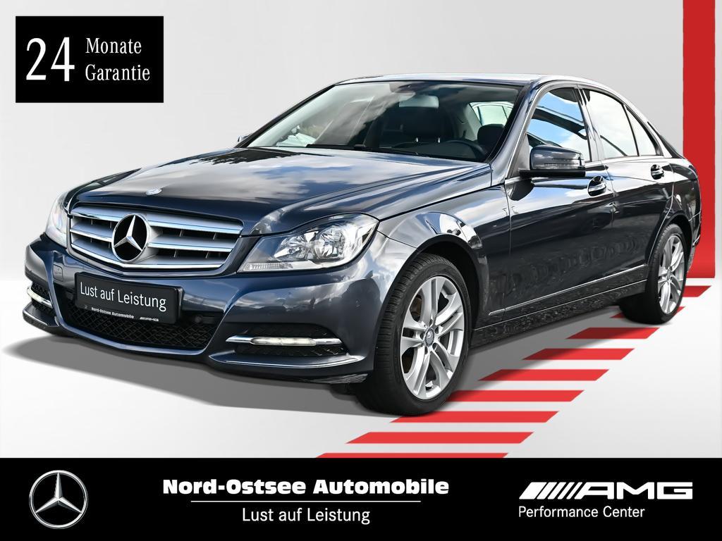 Mercedes-Benz C 180 Avantgarde Navivorr. AHK Parktronic Sitzh., Jahr 2013, Benzin