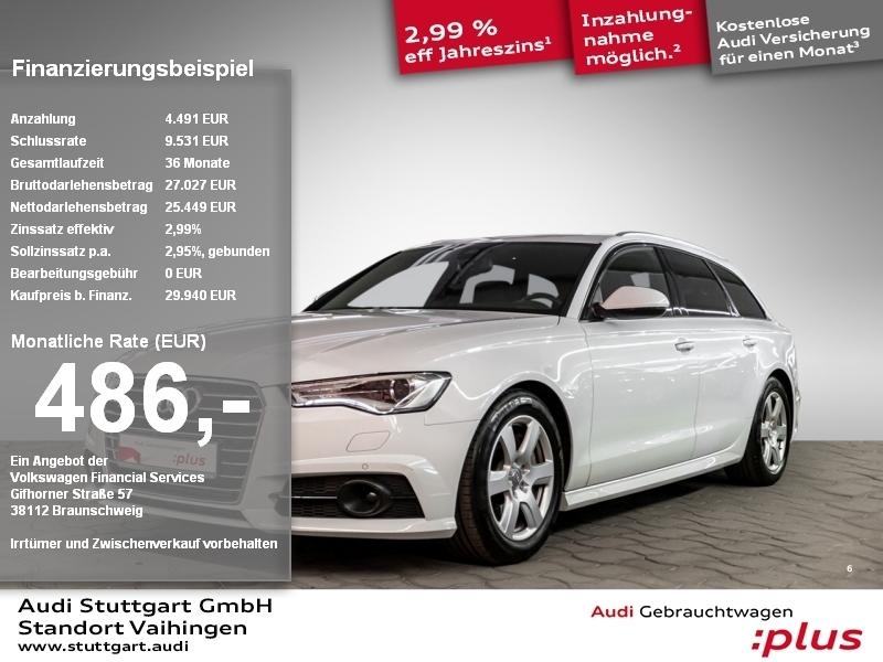 Audi A6 Avant 3.0 TDI quattro ACC HeadUp AIR Kamera, Jahr 2017, Diesel