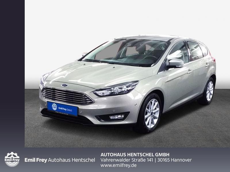 Ford Focus 1.5 EcoBoost Start-Stopp-System Titanium, Jahr 2016, Benzin