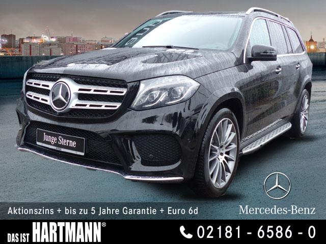 Mercedes-Benz GLS 500 4MATIC AMG+GR. NAVI+HARMAN+STANDH+SITZKL, Jahr 2016, Benzin