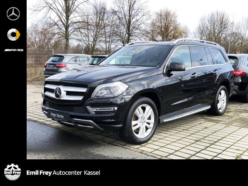 Mercedes-Benz GL 500 4M+ActCurve+PANO+360°+AHK+Distr+LederBraun, Jahr 2014, Benzin