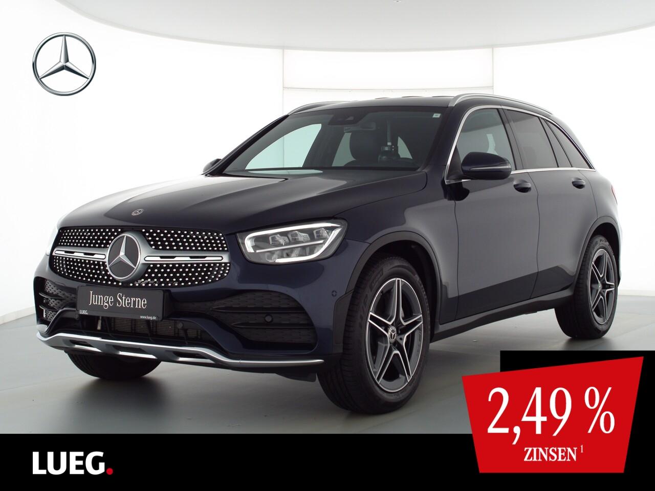 Mercedes-Benz GLC 200 4M AMG+MBUX+Burm+LED-HP+SpurPk+EHeck+RFK, Jahr 2020, Benzin