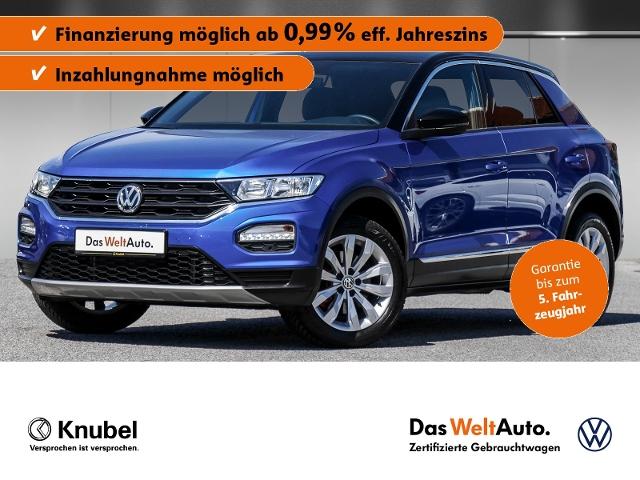 Volkswagen T-Roc Sport 1.5 TSI AHK Fahrassi. Standhzg. eKla, Jahr 2020, Benzin