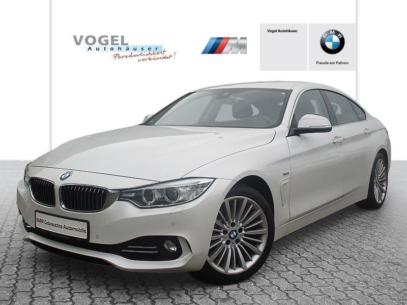 BMW 420d Gran Coupé Modell Luxury Line Euro 6 Navi Prof RFK PDC Klima Shz Head-Up, Jahr 2015, Diesel