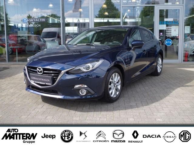 "Mazda 3 SKYACTIVE-G 120 ""Sports-Line"" 2.0, Jahr 2015, petrol"
