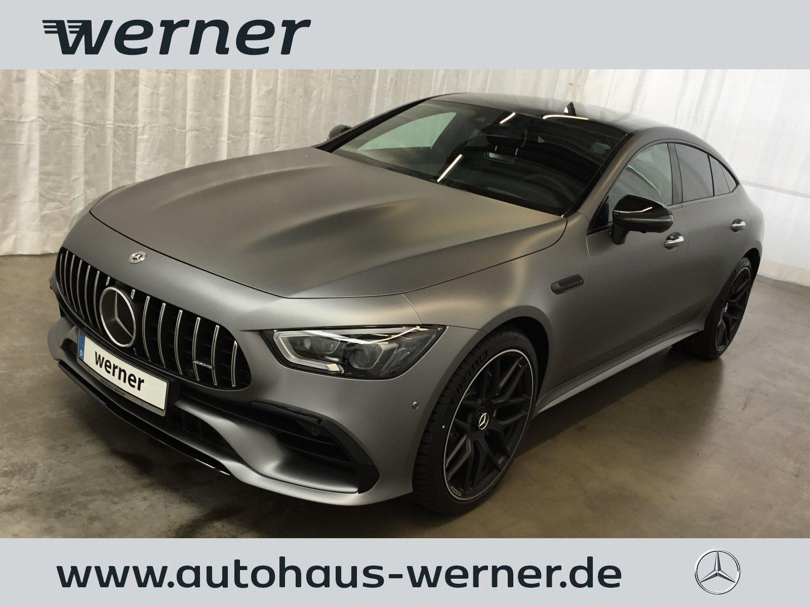 Mercedes-Benz AMG GT 43 4MATIC+ *FOLIERT* *TOP Ausstattung*, Jahr 2019, Benzin