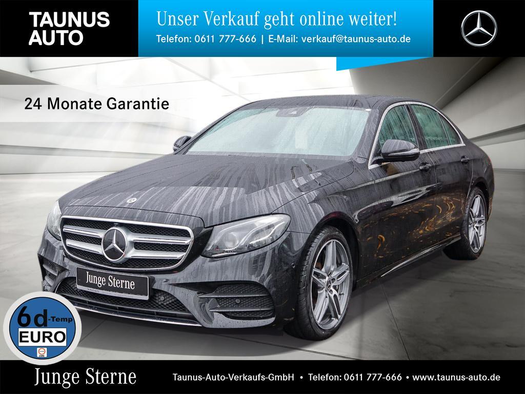Mercedes-Benz E 450 4M AMG-LINE COMAND SHD MULTIBEAM DISTRONIC, Jahr 2018, Benzin