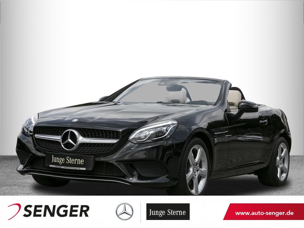 Mercedes-Benz SLC 200*9G-Tronic*LED*Panorama*Airscarf*Navi*PTS, Jahr 2016, Benzin