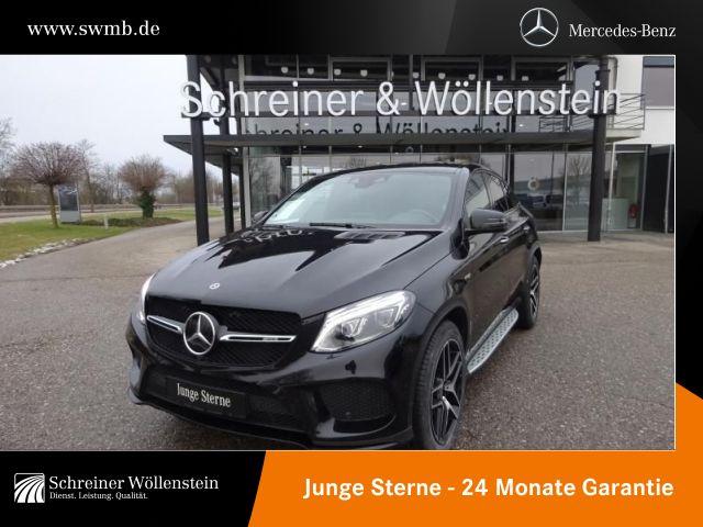 Mercedes-Benz GLE 43 AMG Coupé *Harman*Navi*360°*AHK*Night*LED, Jahr 2017, Benzin