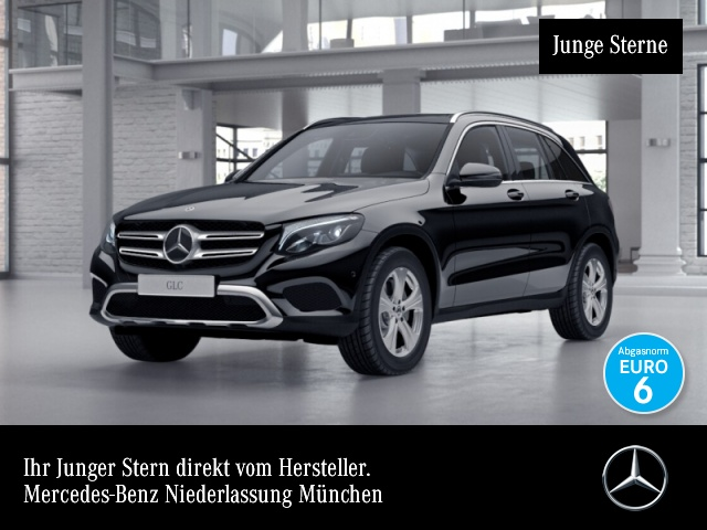 Mercedes-Benz GLC 220 d 4M Exclusive AMG Fahrass Stdhzg Pano LED, Jahr 2017, Diesel