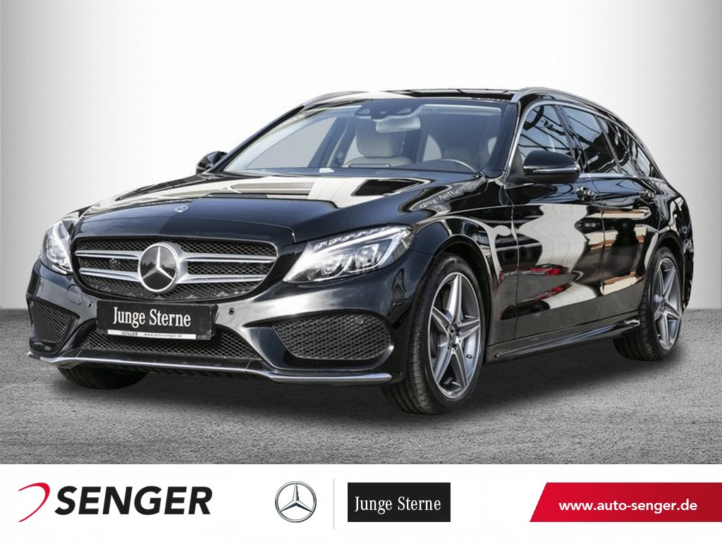 Mercedes-Benz C 300 T *AMG*Exclusive*Distronic*LED*Navi*Kamera, Jahr 2017, Benzin