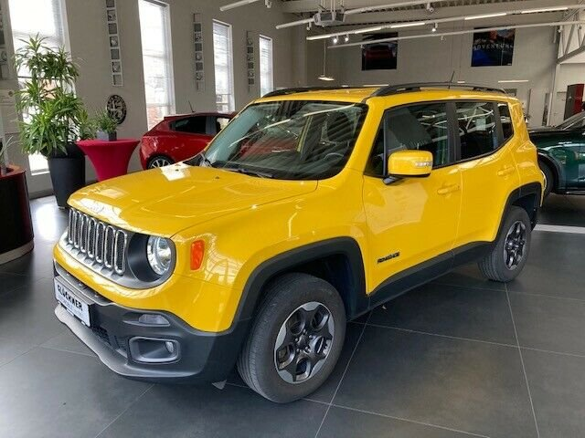 Jeep Renegade Longitude 4x4 2.0l Solar Yellow, Jahr 2016, Diesel