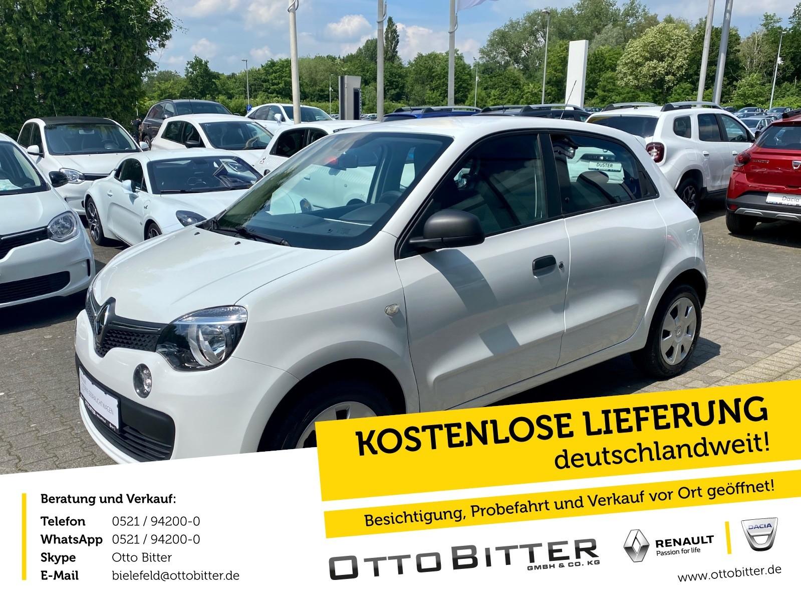 Renault Twingo Life SCe70 KLIMA/GANZJAHRESREIFEN, Jahr 2018, Benzin