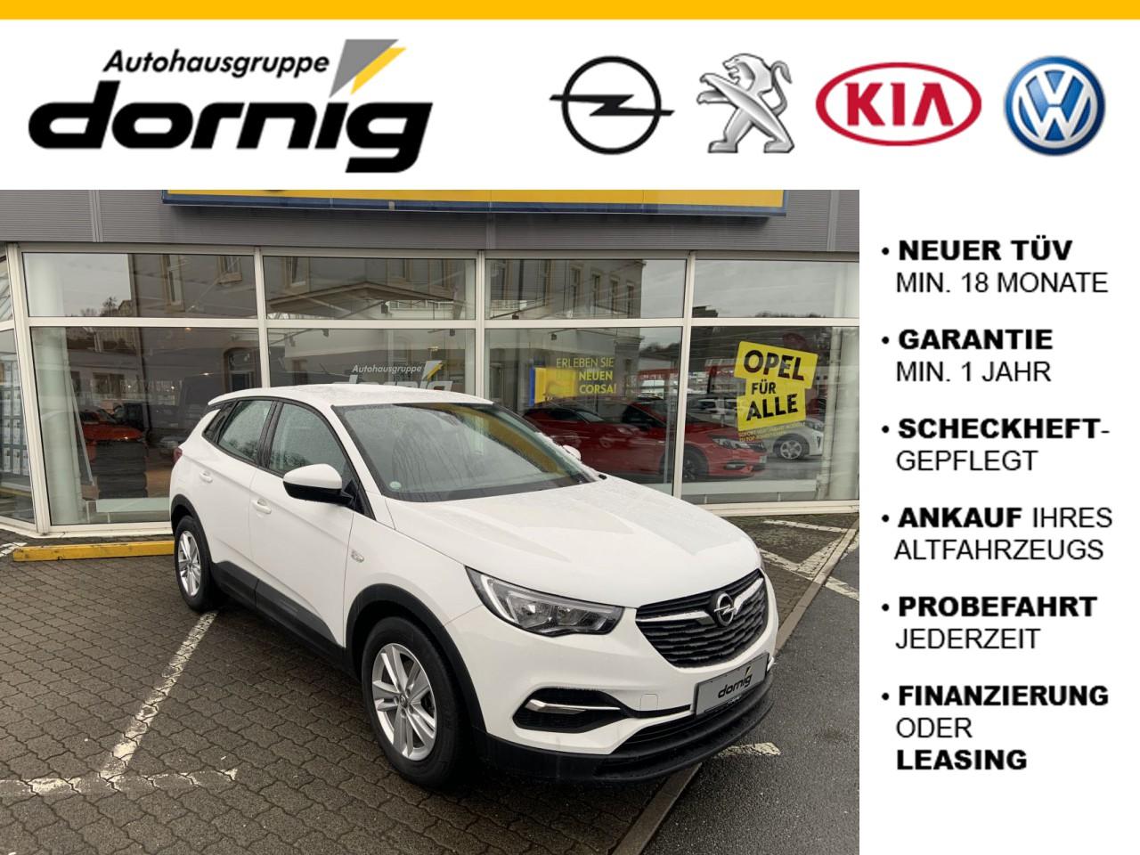 Opel Grandland X Edition, Klimaaut.,Sitzheizung, Jahr 2017, Benzin