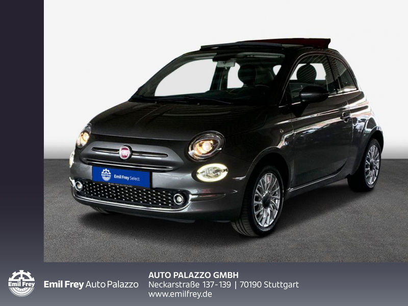 Fiat 500C 1.2 8V Lounge, Jahr 2017, Benzin