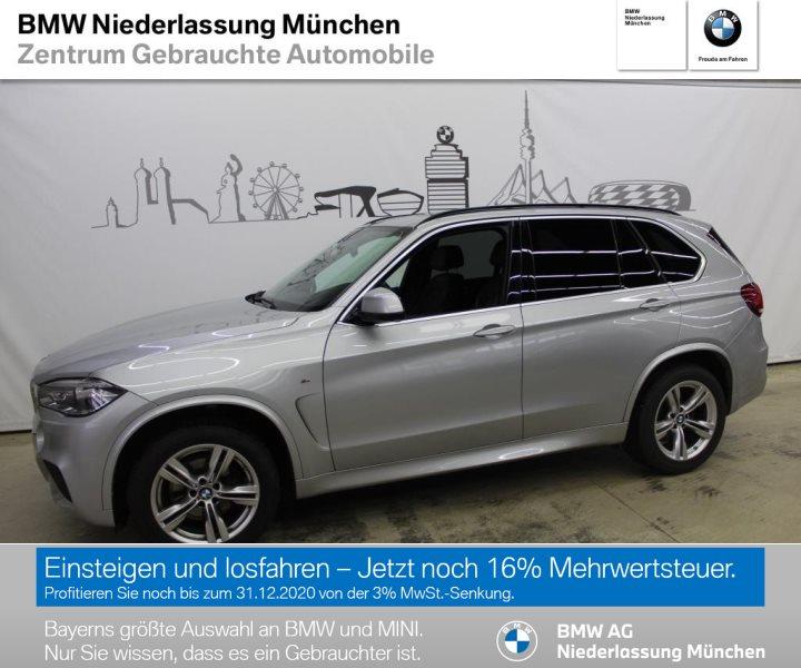 BMW X5 xDrive40d EURO 6, Jahr 2017, Diesel