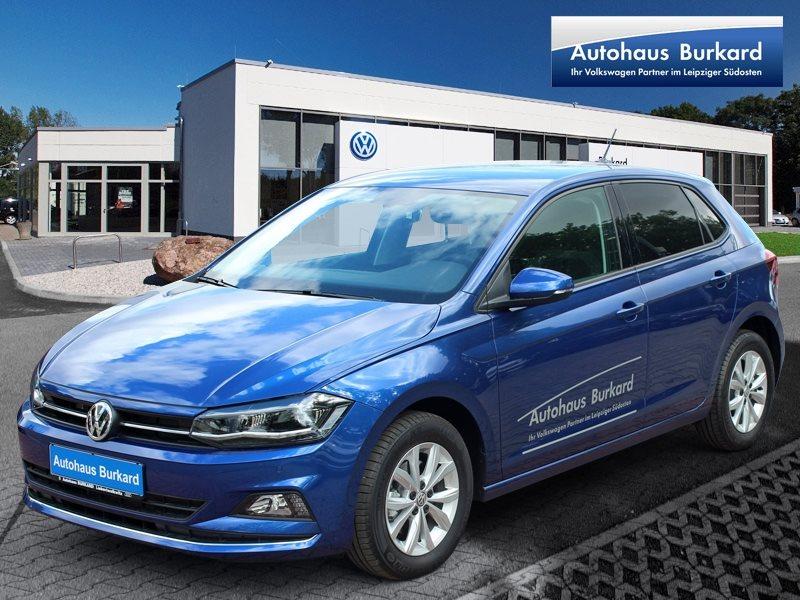 Volkswagen Polo Highline AppConnect, Front Assist, LED-Scheinw., DAB+, Telefonschnittstelle, Jahr 2019, Benzin