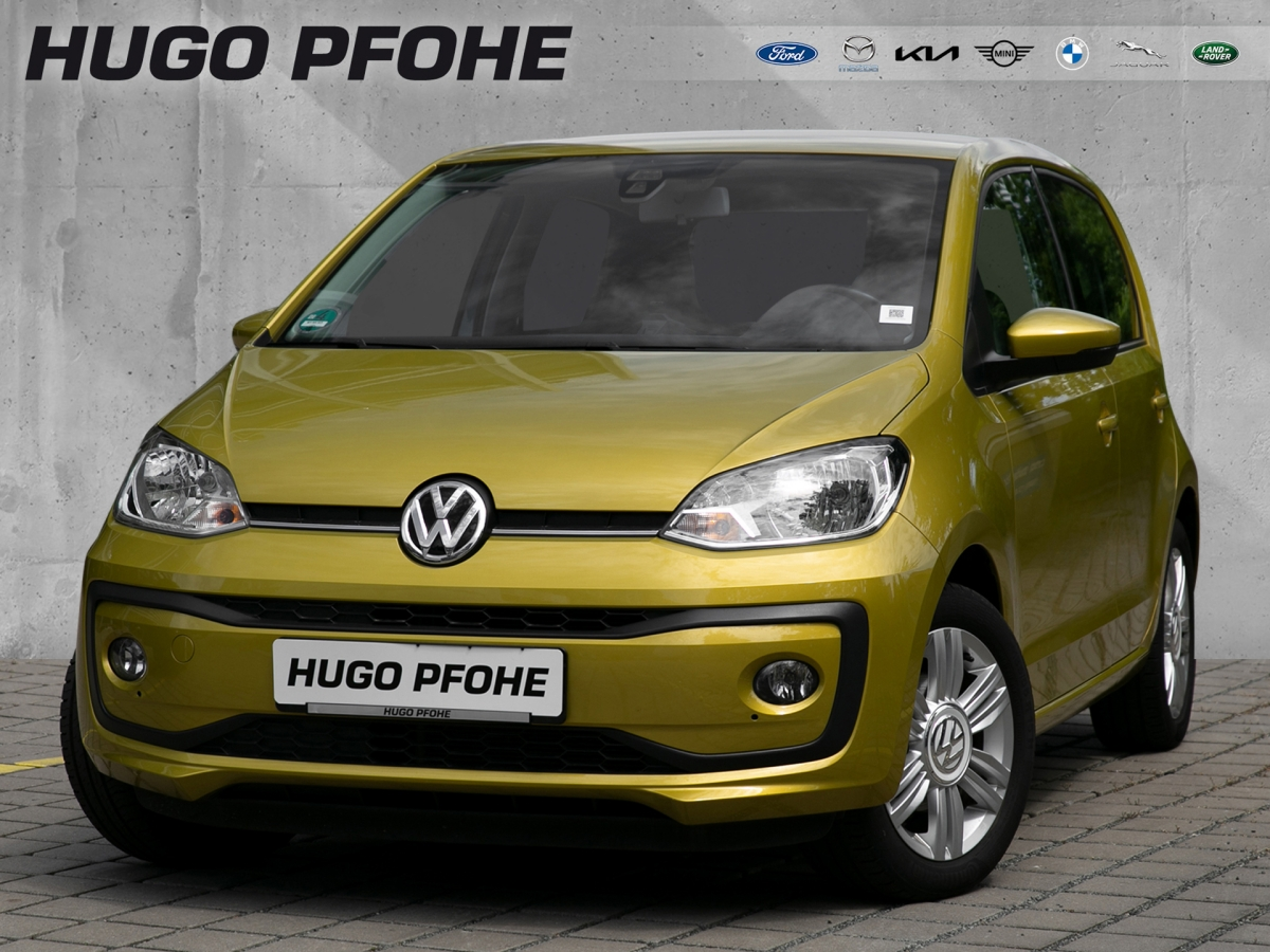 Volkswagen Up high up! 5-türig Automatik Navi SHZ Temp USB, Jahr 2018, Benzin