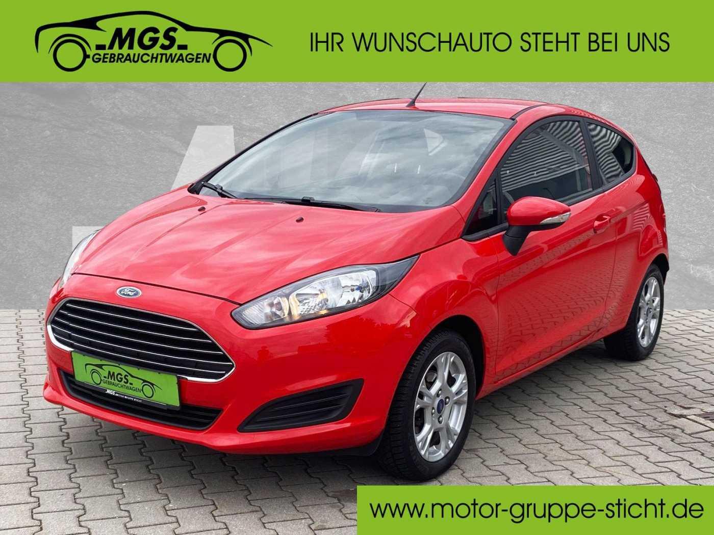 Ford Fiesta 1.0 EcoBoost Sync-Edition 3trg, Jahr 2014, Benzin