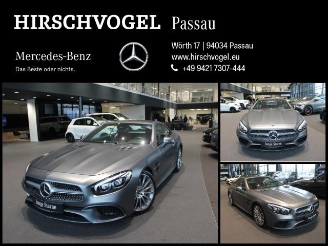 Mercedes-Benz SL 400 AMG-Line+Pano+AIRSCARF+Com+ILS+KEYLESS-GO, Jahr 2017, Benzin