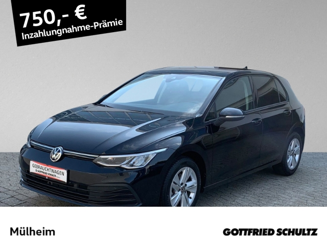 Volkswagen Golf 1.5 TSI ACC NAV LED MUFU Life, Jahr 2021, Benzin