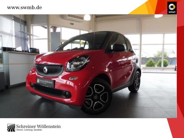 smart fortwo coupé 52kW pure Klima SHZ Komfort 35L 1Hd, Jahr 2016, Benzin