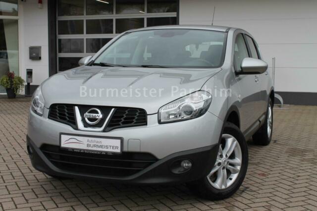 Nissan Qashqai 1.6 Start/Stop+MFL+PDC+ZV+KLIMA, Jahr 2013, petrol