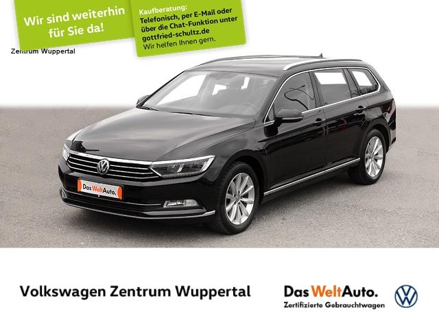 Volkswagen Passat Var. 2,0 TDI Highline DSG NAVI LED STANDHZG SHZ PDC, Jahr 2017, Diesel
