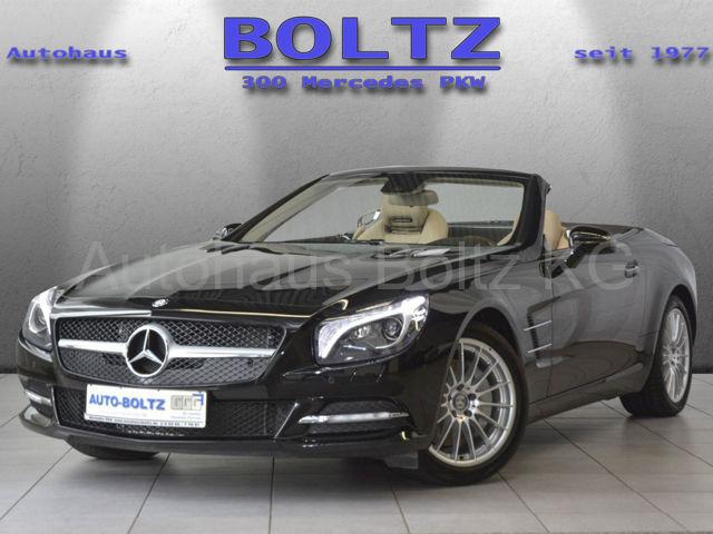 Mercedes-Benz SL 350 Comand PTS ASC SHZ BiX Alarm, Jahr 2012, petrol