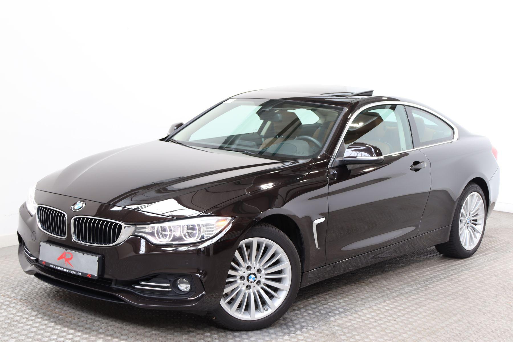 BMW 430 Coupe d xDrive LUXURY HEADUP,KEYLESS,MEMORY, Jahr 2015, Diesel