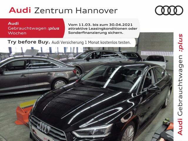 Audi A5 Sportback 40 TFSI Design, LED, B&O, Navi, PDC, Jahr 2019, Benzin