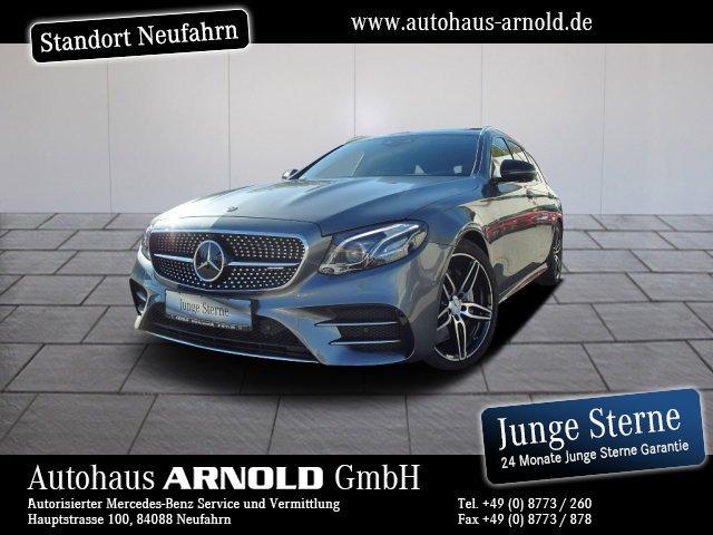 Mercedes-Benz E 53 T AMG 4M+ Comand DISTRONIC Widescreen 360°!, Jahr 2019, petrol