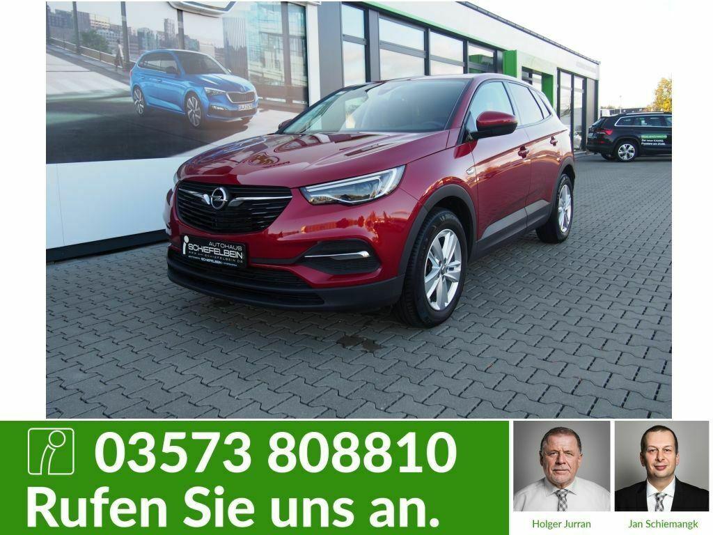 Opel Grandland X 1.2 Edition, Jahr 2018, petrol