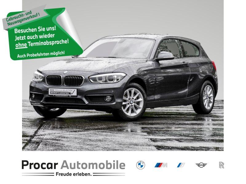 BMW 116i LED+2-ZONEN-KLIMA+PDC-VORNE-HINTEN+0,01%FIN, Jahr 2018, Benzin