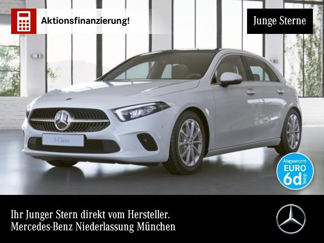 Mercedes-Benz A 180 d Progressive Pano LED Kamera Spurhalt-Ass, Jahr 2019, Diesel