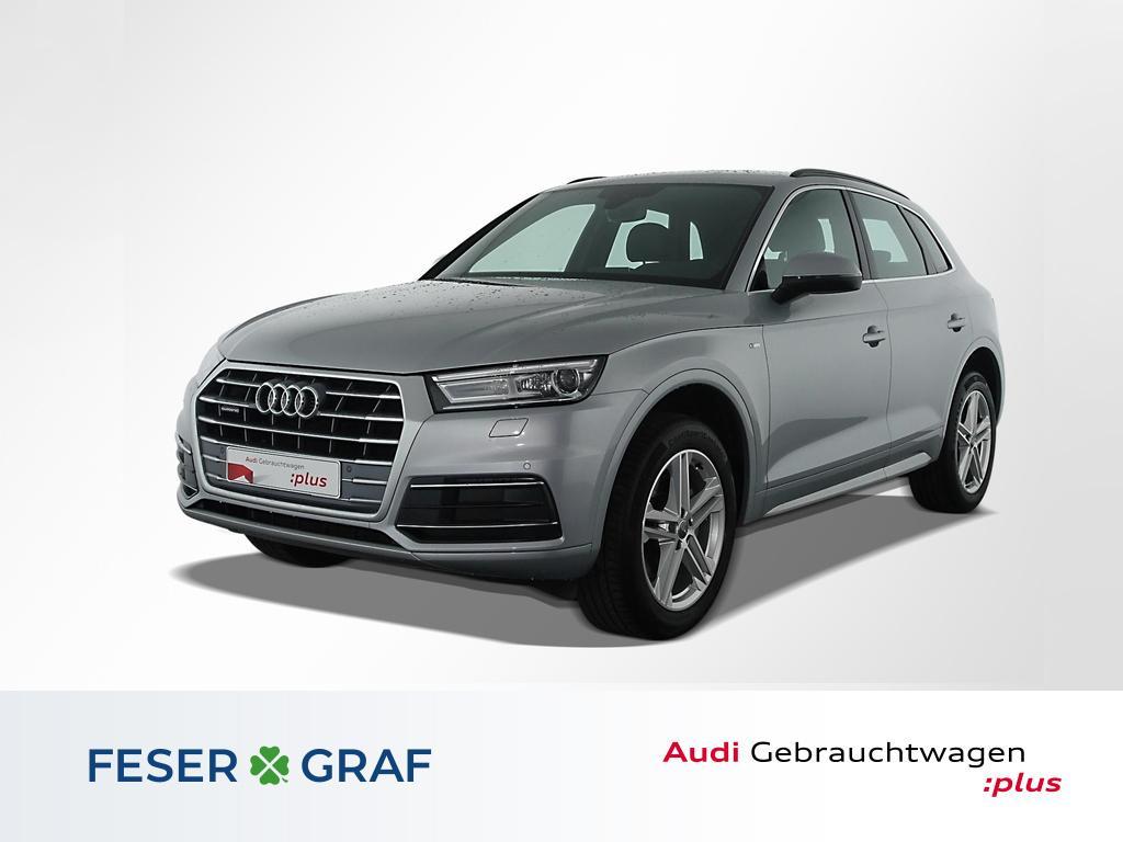 Audi Q5 Sport 40TDI q. S line/Leder/Navi/19 Zoll, Jahr 2019, Diesel