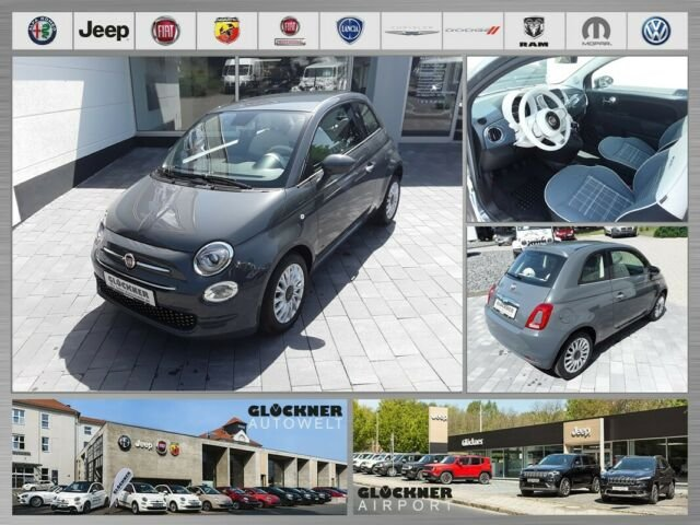 Fiat 500 1.2 Lounge Apple Car Play / Android Auto, Jahr 2019, Benzin
