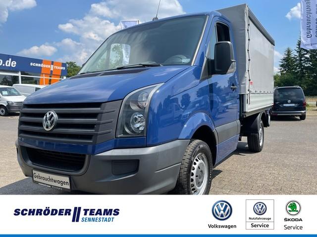 Volkswagen Crafter 35 2.0 TDI Pritsche+Plane, Jahr 2013, Diesel
