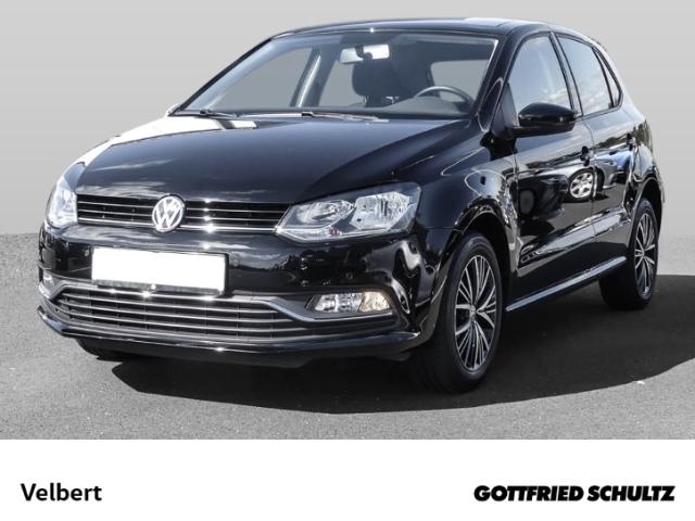 Volkswagen Polo 1.2 TSI ALLSTAR+PANO+SHZ+GRA+PCD, Jahr 2017, Benzin