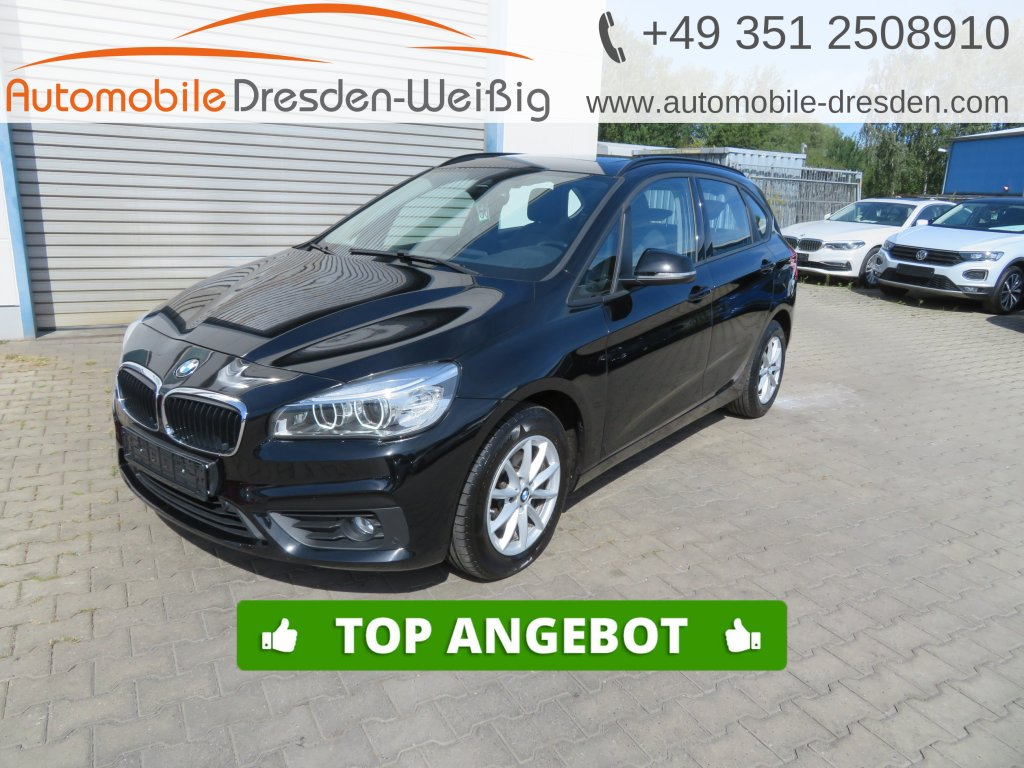 BMW 218 Active Tourer i Advantage*Navi*voll LED*Pano, Jahr 2017, Benzin